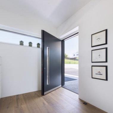 Porte d'entrée bois aluminium Internorm - Devis, Pose & Prix - Vaud et Genève