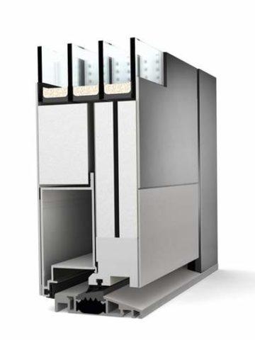 Porte d'entrée aluminium Internorm - Devis, Pose & Prix - Vaud et Genève