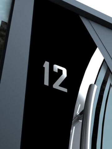 Porte d'entrée aluminium Inotherm - Devis, Pose & Prix - Vaud et Genève